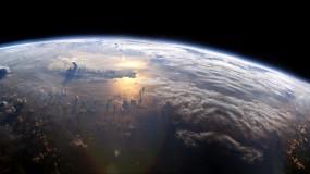 Обои Земля из космоса: Атмосфера, Облака, Вода, Земля, Космос