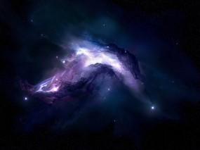 Обои Туманность: Звёзды, Вселенная, Туманность, Космос