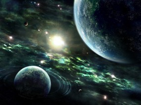 Обои Солнечная система: Планеты, Земля, Звёзды, Космос