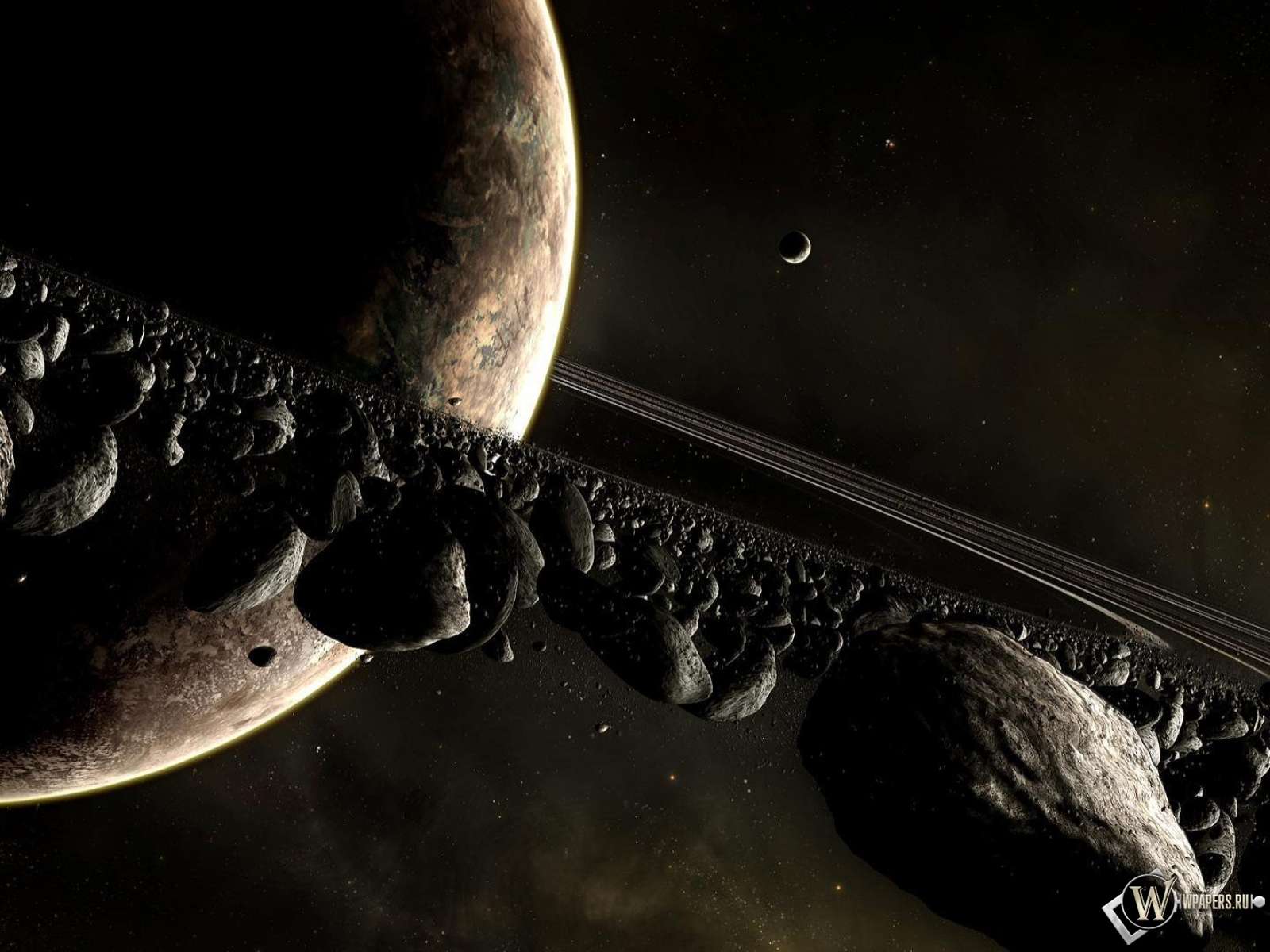 Кольцо метеоритов 1600x1200