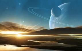 Обои Космические просторы: Солнце, Планеты, Небо, Космос