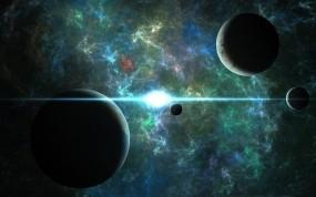 Обои Планеты: Космос, Планеты, Фантастика, Космос