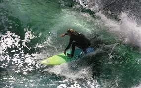 Обои Сёрфер: Волны, Вода, Море, Сёрфинг, Спорт