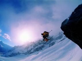 Обои Фрирайд: Снег, Спорт, горные лыжи, Спорт
