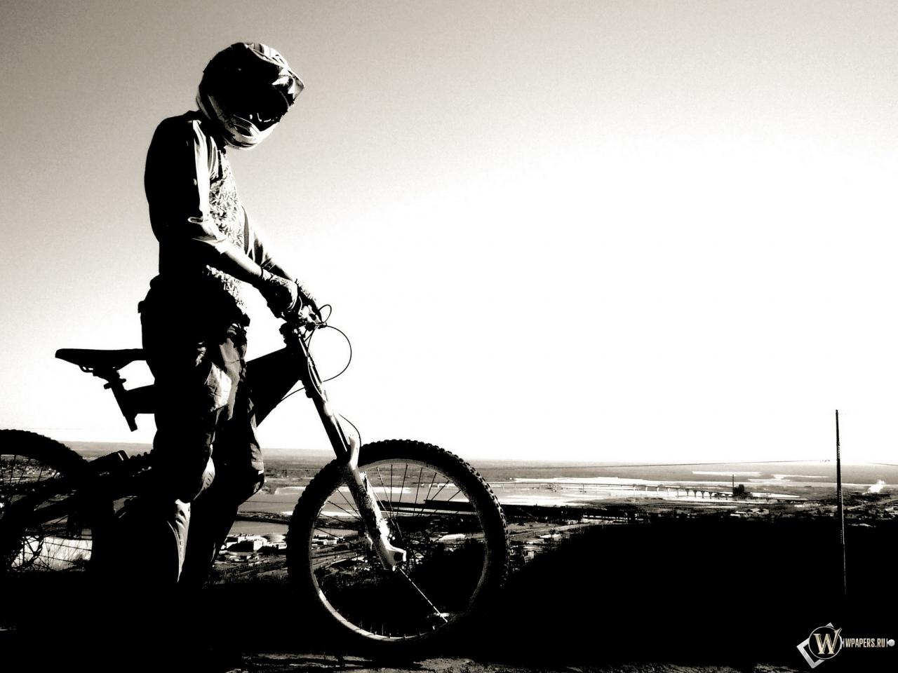 Велосипедист 1280x960