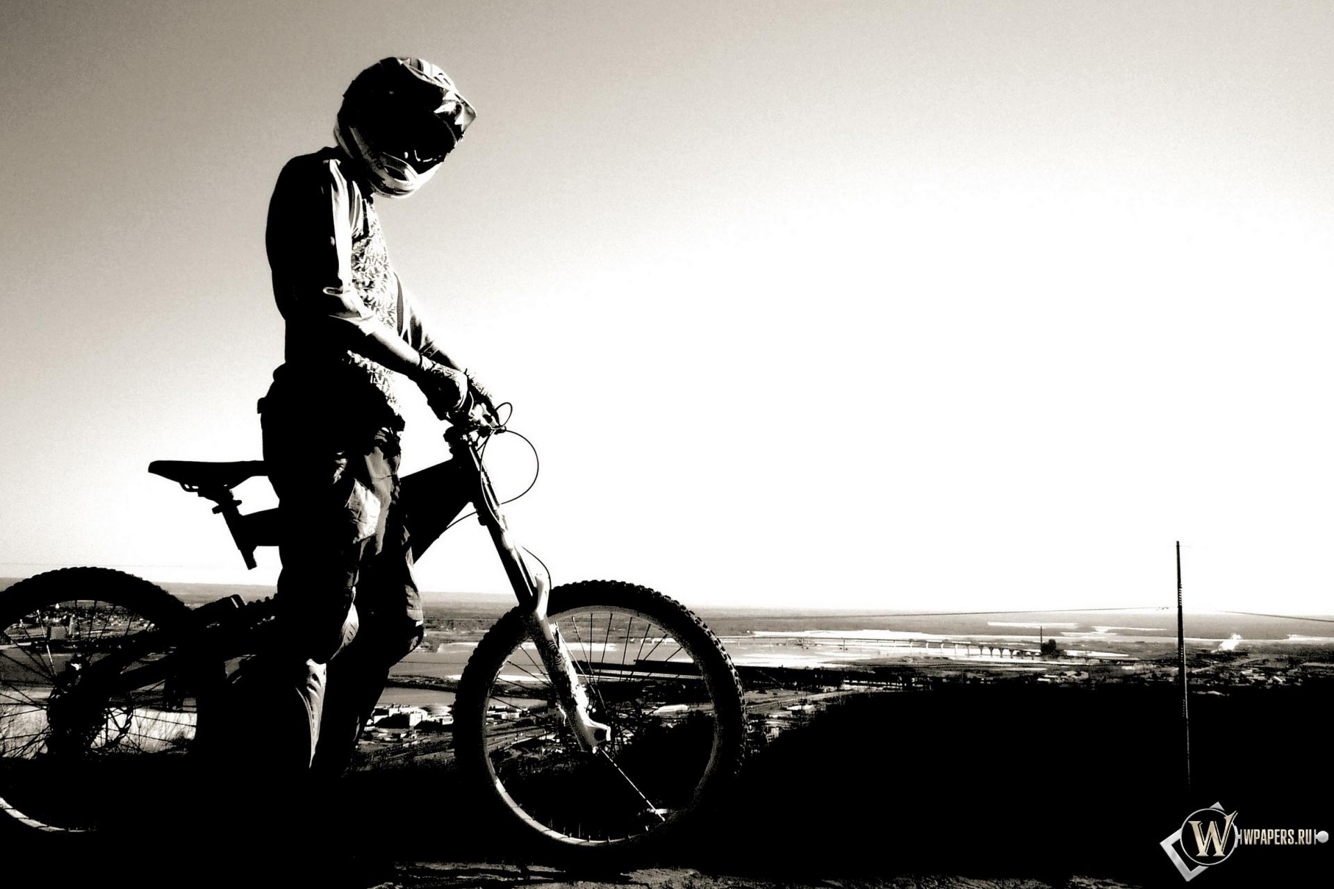 Велосипедист 1920x1280