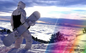 Обои Csv snowboard: Сноуборд, Сноубордист, CSV, Snowboard, Sport, Спорт