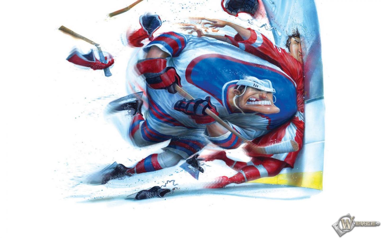 Обои на рабочий стол хоккей скачать