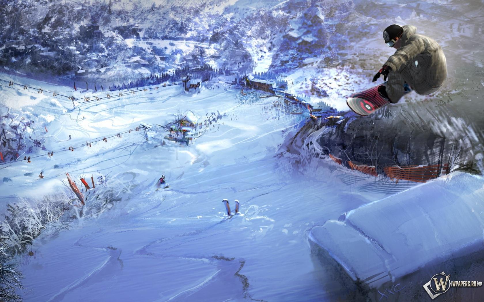 Сноуборд 1680x1050