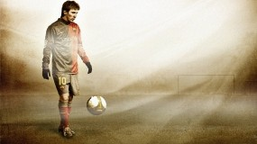 Обои Lionel Messi: Футбол, Футболист, Мяч, Lionel Messi, Спорт