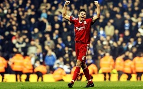 Обои Steven Gerrard: Футбол, Футболист, Steven Gerrard, Спорт