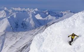 Alaskan Snowboarding