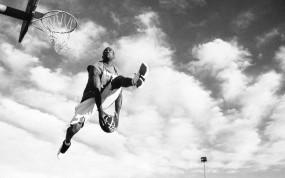 Обои Сламданк: Негр, Баскетболист, Streetball, Спорт
