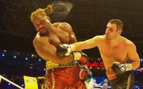 Обои Бокс: Удар, Кличко, Бокс, Спорт
