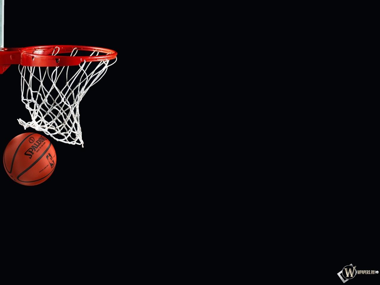 Мяч и корзина 1280x960