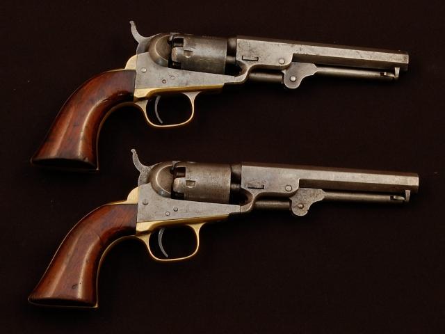 Капсульные-револьверы системы Кольта