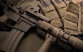 Обои М-4: Обойма, Автомат, Прицел, Оружие