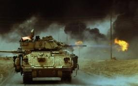 Обои Война в Ираке: Война, Оружие, Стрельба, Оружие