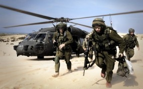Обои Армия обороны Израиля: Пустыня, Оружие, Армия, Оружие