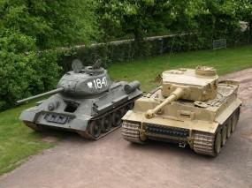 Обои Т-34: Оружие, Танк, Техника, Оружие