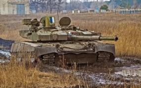 Обои Танк Оплот: Оружие, Танк, Украина, Оружие