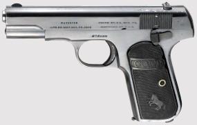 Обои Colt M1903 Hammerless 32 ACP: Оружие, Colt M1903, Оружие