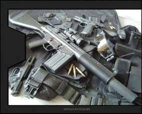 Обои MP5-SD3: Оружие, Автомат, Снаряжение, Оружие