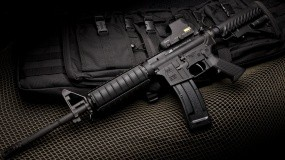 Обои M16: M16, Жилет, Оружие