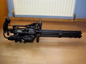 Обои Шестиствольный миниган: Оружие, Чёрный, Пулемет, Стволы, Миниган, Оружие