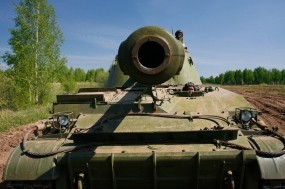 Обои Дуло танка: Дуло, Танк, Оружие