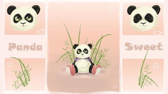 Панда-конфетка