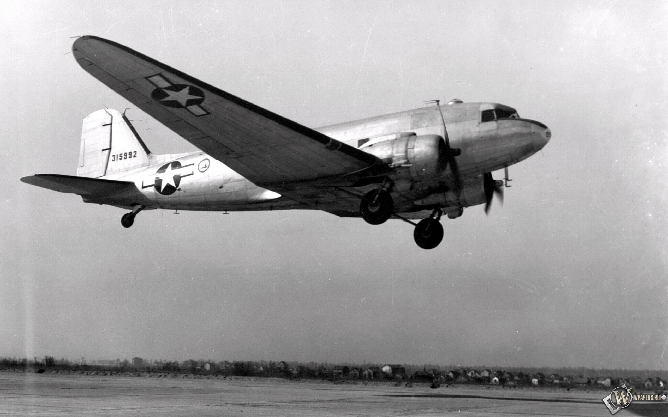 Douglas С-47 Скайтрэйн 2560x1600