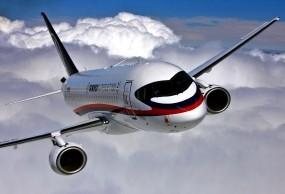 Обои Суперджет SSJ-100: Sukhoi Superjet, Самолеты