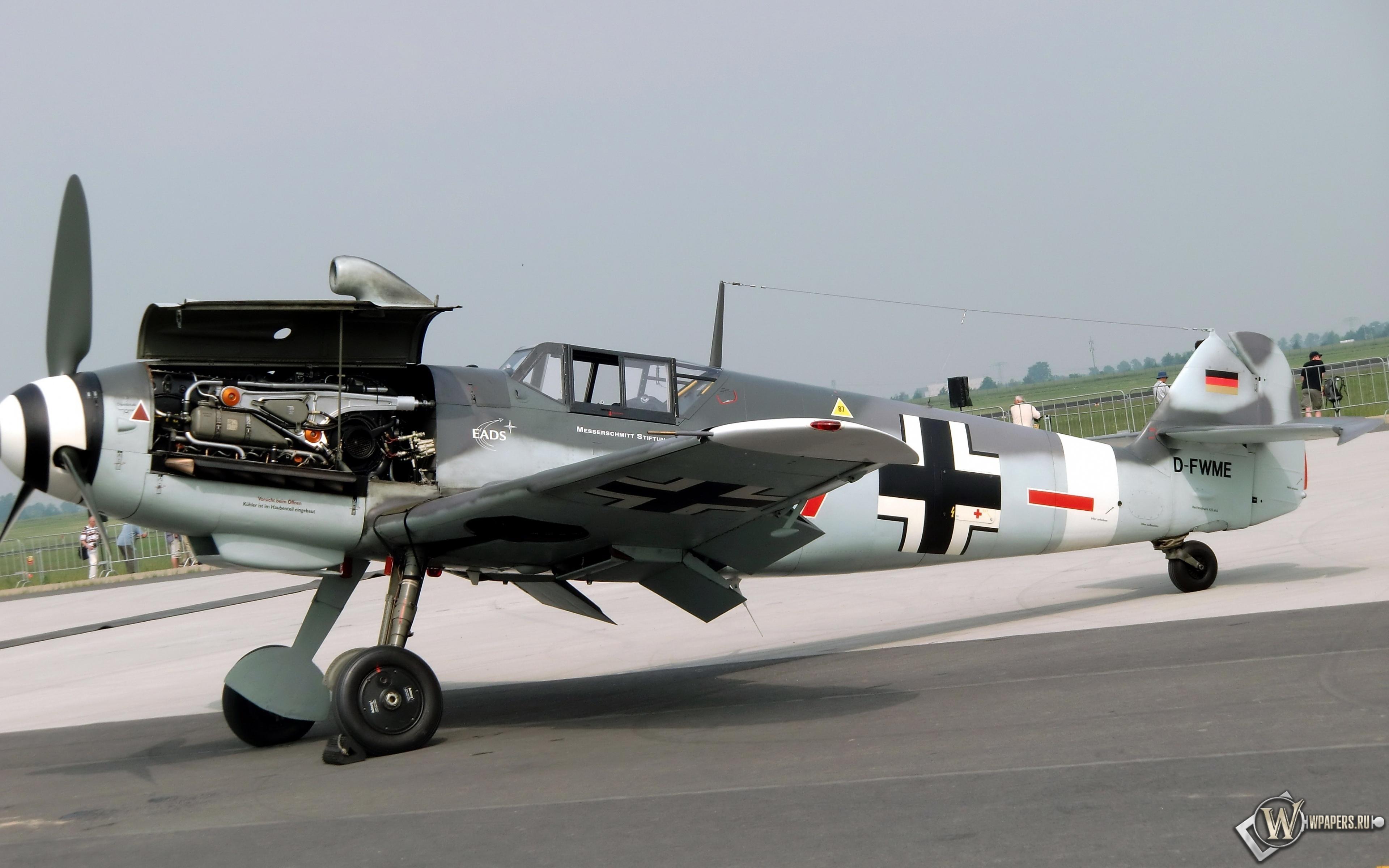 Messerschmitt-Me-109G4 3840x2400