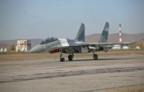 Обои Су-35: Самолёт, Су-35, Истребители