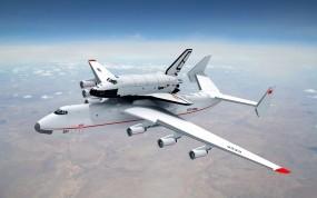 Обои Ан-225 Мрия: Самолёт, Авиация, Самолеты