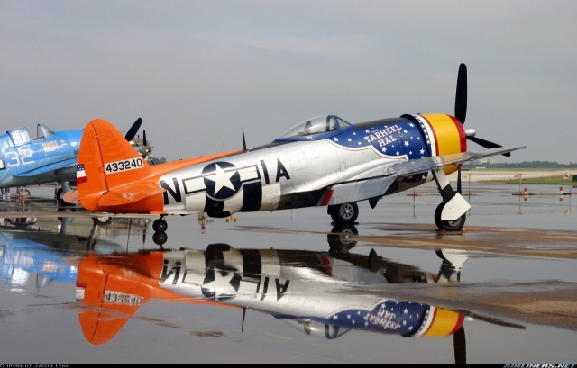 American P-47 Thunderbolt