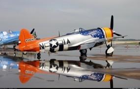 Обои American P-47 Thunderbolt: Самолёт, American P-47 Thunderbolt, Самолеты