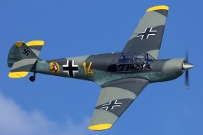 Обои Messerschmitt Bf-108 Taifun: Самолёт, Messerschmitt, Самолеты