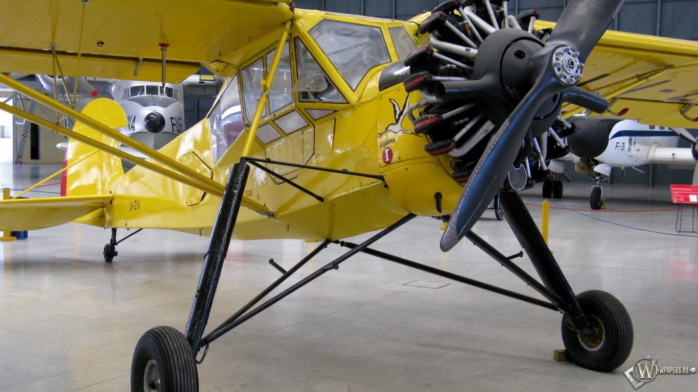 Fieseler Storch Fi-156 1366x768