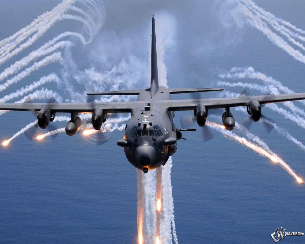 Lockheed AC-130 1280x1024