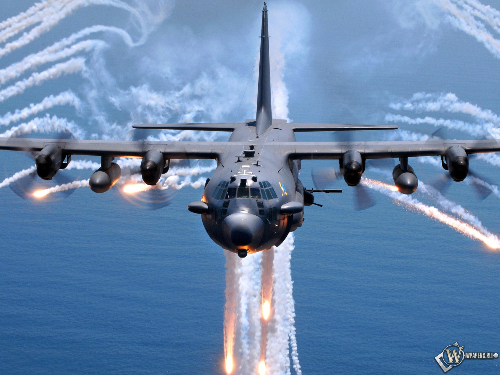 Lockheed AC-130 1920x1440