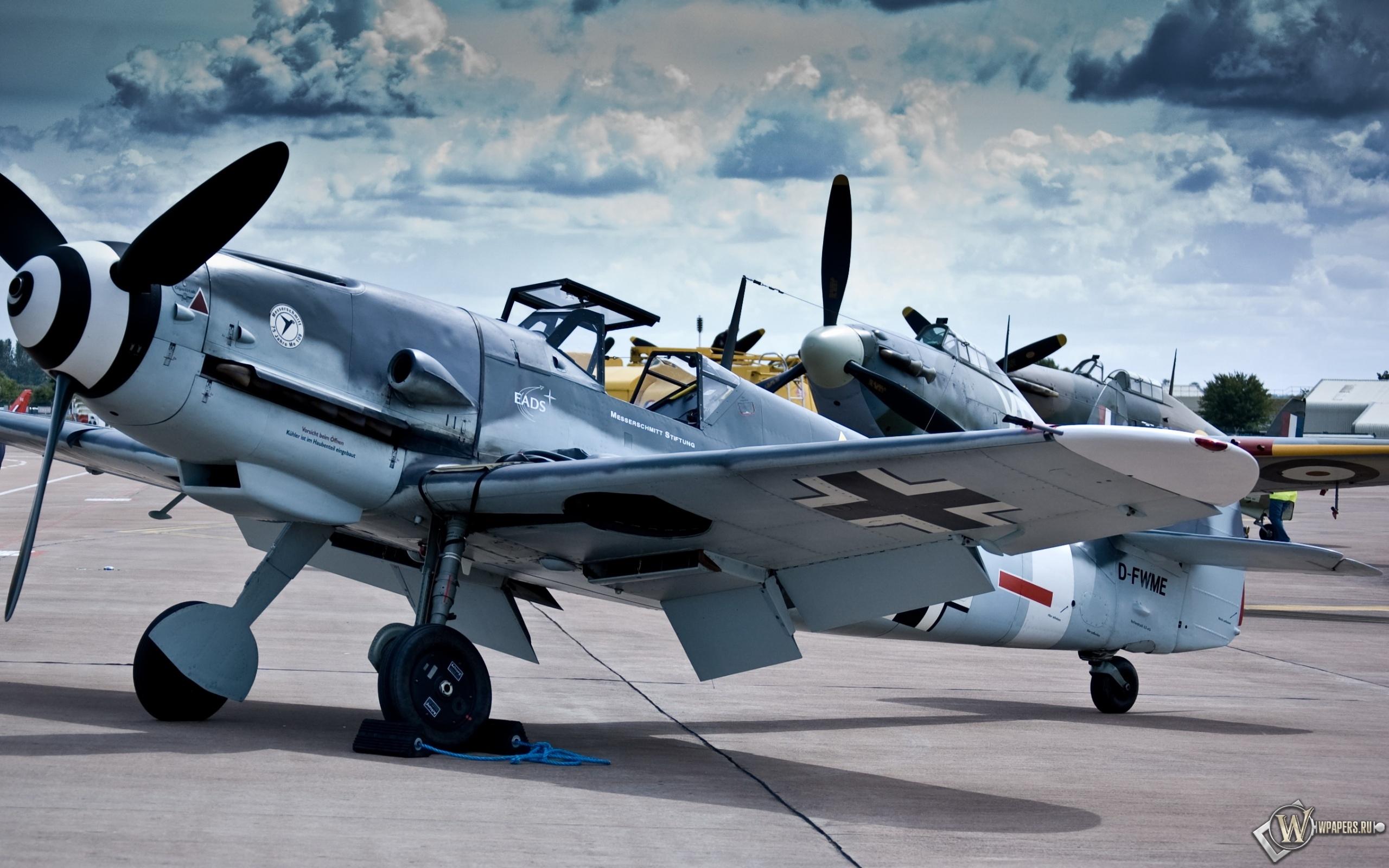 Messerschmitt Bf-109 (Me-109) 2560x1600