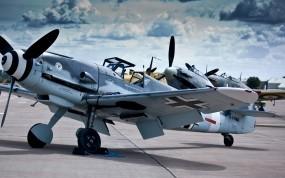 Обои Messerschmitt Bf-109 (Me-109): Истребители, Messerschmitt, Истребители