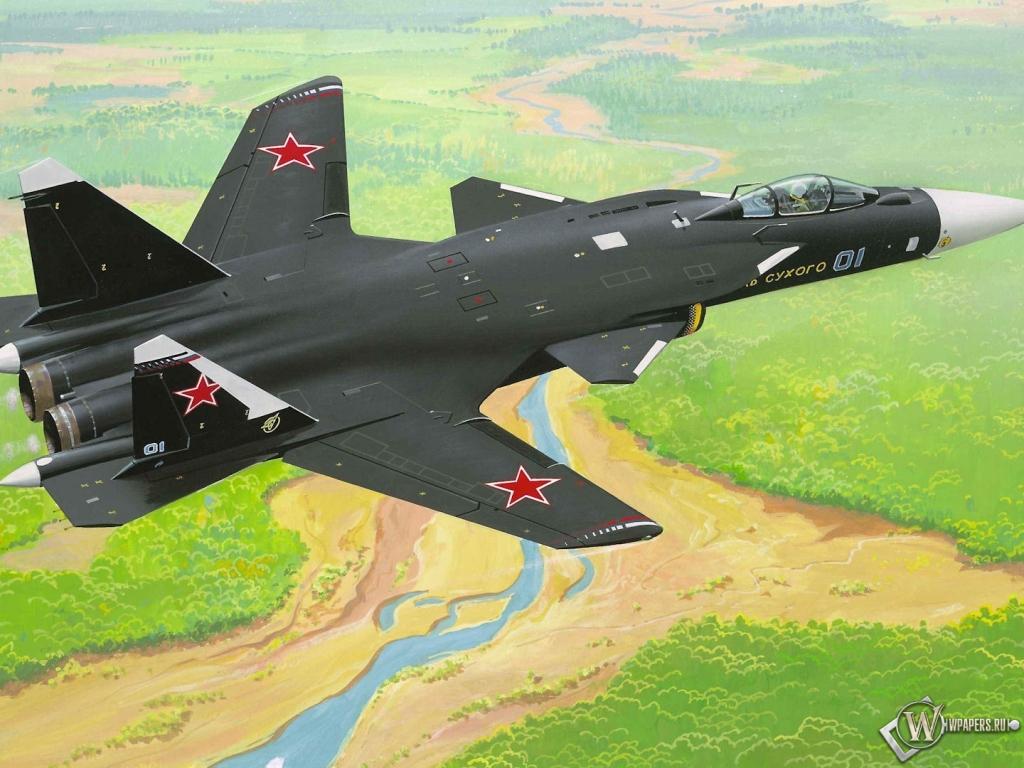 Су-47 1024x768