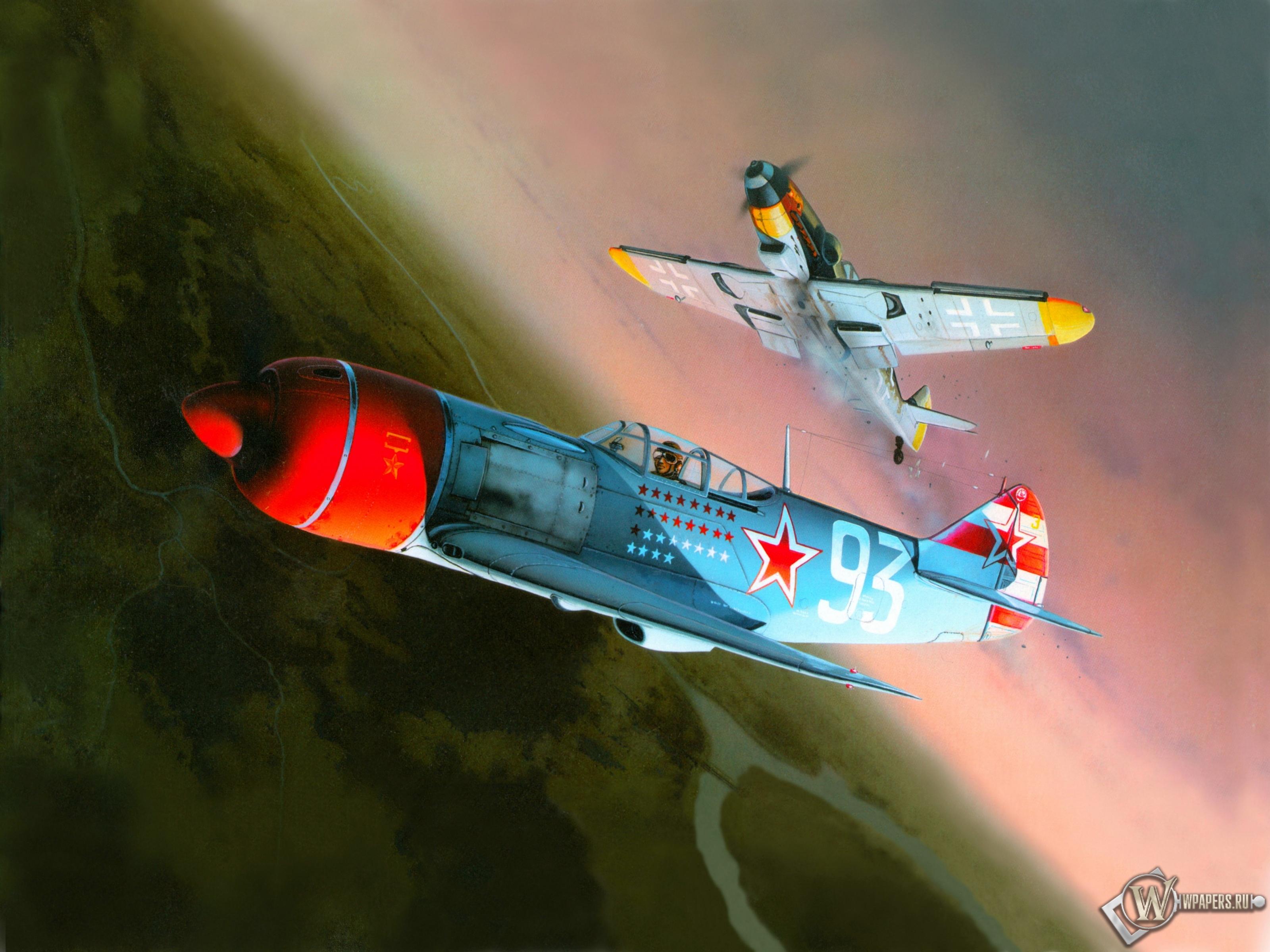 Lavochkin La-7 3200x2400