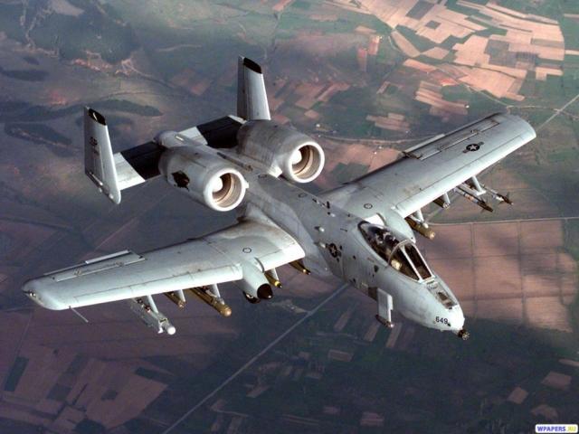 Штурмовик A-10