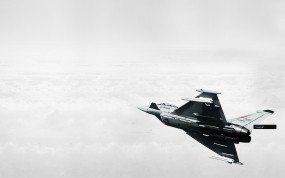 Обои Eurofighter typhoon: Облака, Истребитель, Eurofighter Typhoon, Истребители