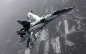 Обои СУ-35: Истребитель, Самолёт, Су-35, Истребители