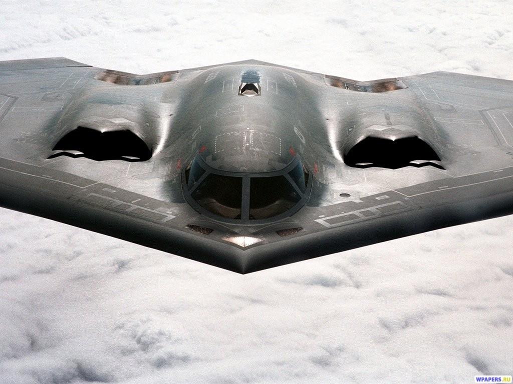 Бомбардировщик Lockheed-Martin B-2 1024x768